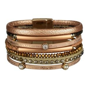 Jewelry - ✨NEW✨ Multi-layer Leather Cuff Bracelet ✨